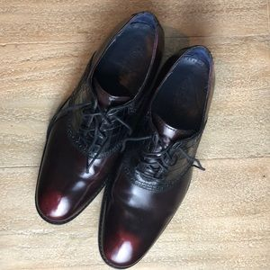 Like new Cole Haan Nike Air men's oxfords size 10